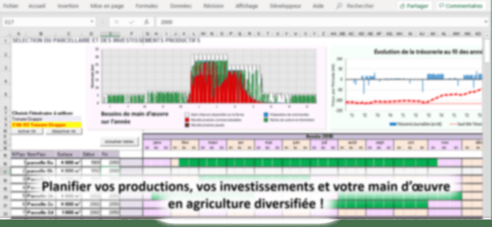 Agriplan, un outil de simulation et d'aide à la décision stratégique pour les exploitations diversifiées