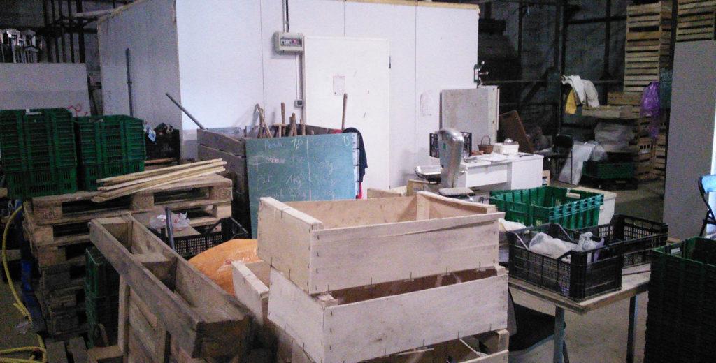 Atelier de préparation de paniers locaux