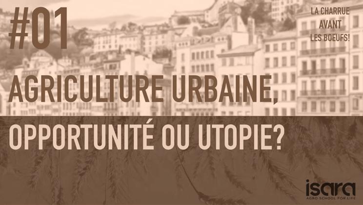 Un podcast pour l'agriculture, l'agriculture urbaine & l'agronomie